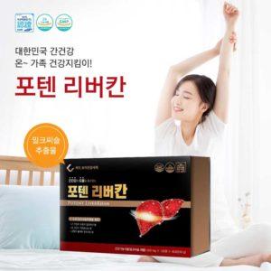 Bổ gan Potent Liverkhan Hàn Quốc