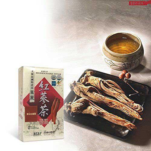 Công dụng Trà sâm Hàn Quốc KGNF Korean Ginseng Tea
