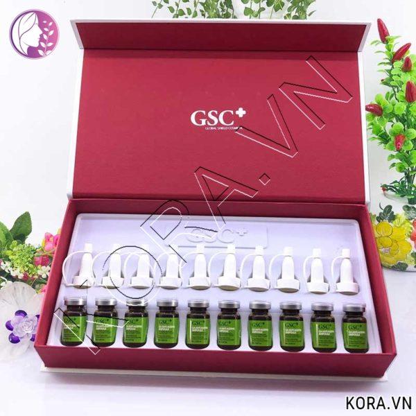 Công dụng tế bào gốc trị sẹo GSC Ga Anti Ageing Ampoule