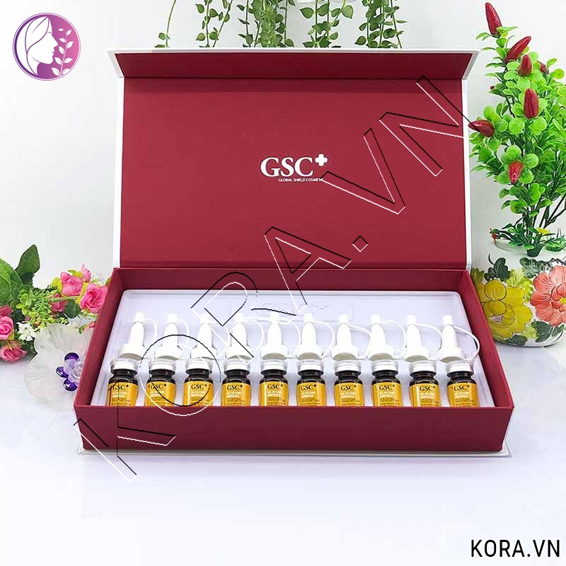 Giới thiệu tế bào gốc trị mụn GSC+ GA AC CARE AMPOLE