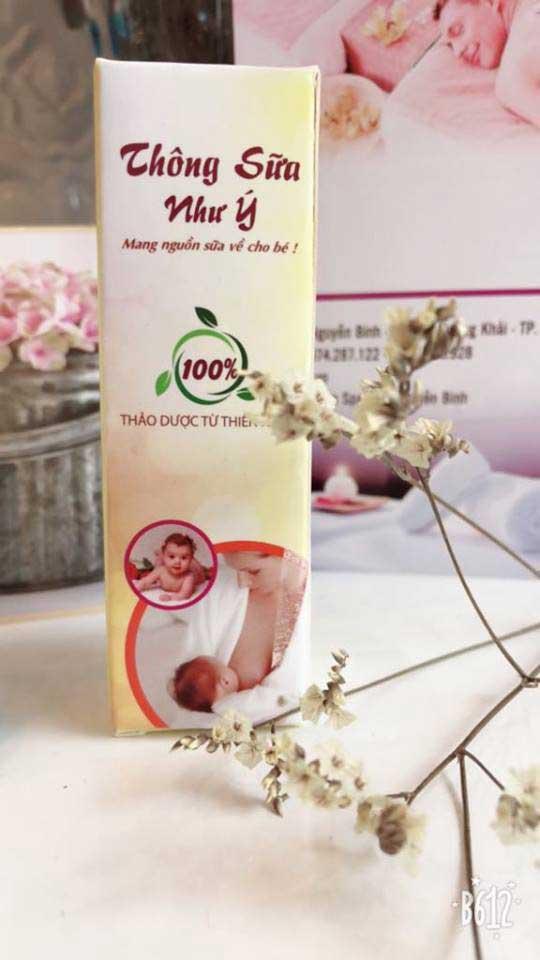 Hướng dẫn sử dụng chữa tắc tia sữa Như Ý
