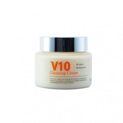 Kem dưỡng trắng sáng da mặt V10 Gleaming Cream Skinaz Hàn Quốc