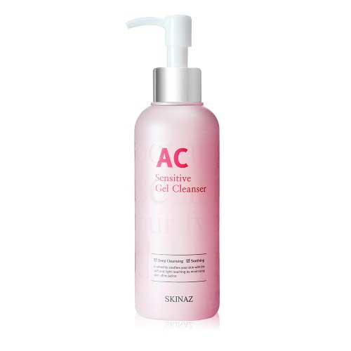 Sữa rửa mặt Skinaz AC Sensitive Gel Cleanser Hàn Quốc