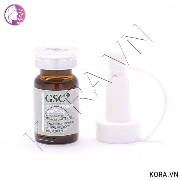 Tế bào gốc trắng da trị tăng sắc tố GSC+ GV Whitening Ampoule