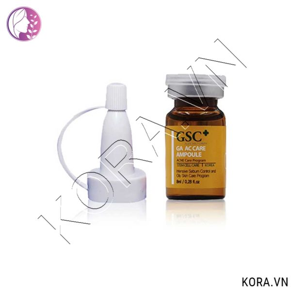 Tế bào gốc trị mụn GSC+ GA AC CARE AMPOLE