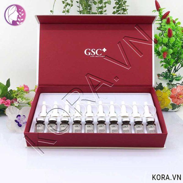 Thành phần tế bào gốc trắng da trị tăng sắc tố GSC+ GV Whitening Ampoule.jpg