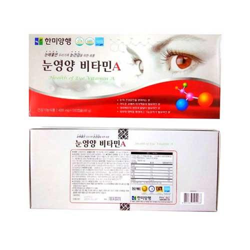 Thành phần viên uống bổ mắt Hanmi Hàn Quốc