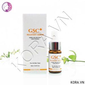 Tinh chất phục hồi da GSC Recovery Serum 10ml