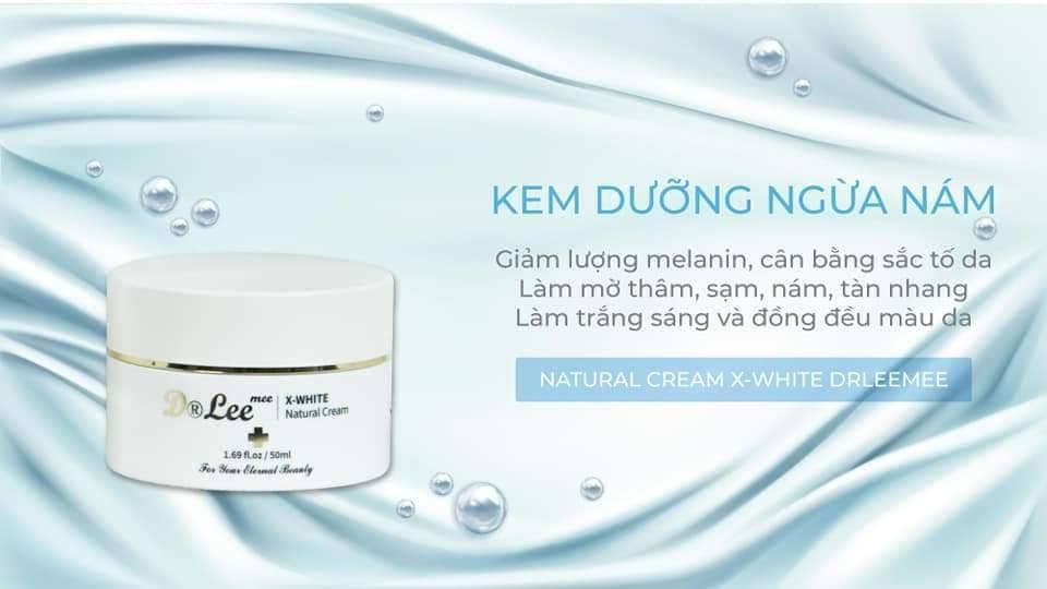 Kem ngừa nám dưỡng trắng X-White Dr Lee Mee 50ML