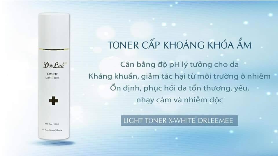 Nước hoa hồng X-White Dr Lee Mee 120ML