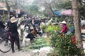 chợ hoa nam định
