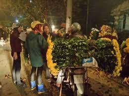 chợ hoa đem nam định