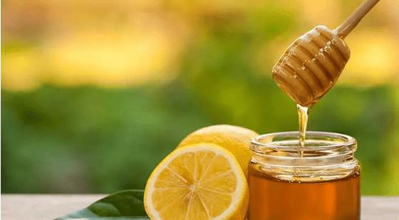 chanh mật ong đẹp môi