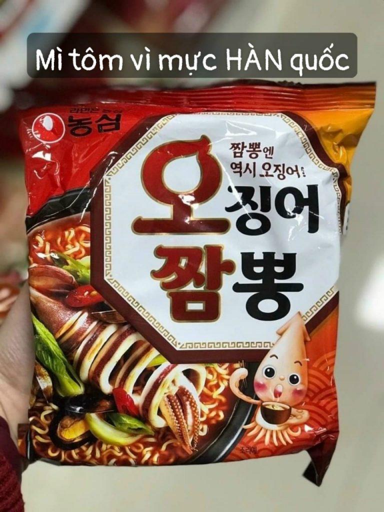 Mì Tôm Hàn Quốc