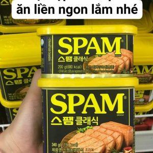 thịt hộp hàn quốc Hormel Spam